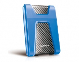"ADATA DashDrive Durable HD650 1TB, 2.5"" , USB 3.1, синий (AHD650-1TU31-CBL)"