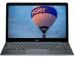 "Haier ES34 Intel Core M3 7Y30 1000 MHz/13.3""/1920x1080/4GB/128GB SSD/DVD нет/Intel HD Graphics 615/Wi-Fi/Bluetooth/Windows 10 Home (TD0026533RU) Blue"