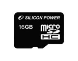 Silicon Power microSDHC 16GB Class 10 (SP016GBSTH010V10)