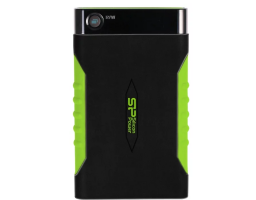 Silicon Power Armor A15 1TB Black/Green (SP010TBPHDA15S3K)
