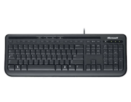 Microsoft Wired Keyboard 600 Black USB (ANB-00018)