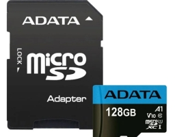 ADATA Premier microSDXC UHS-I U1 V10 A1 Class10 128GB + SD adapter (AUSDX128GUICL10A1-RA1)