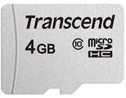 Transcend microSDHC 300S Class 10 4GB (TS4GUSD300S)