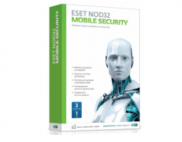 Eset NOD32 Mobile Security 3устр 1Y Base Box (NOD32-ENM2-NS(BOX)-1-1)