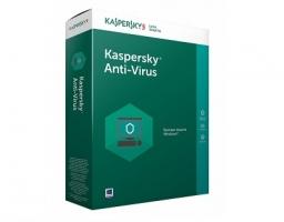 Kaspersky Anti-Virus Russian Edition 2PC 1Y Base Box (KL1171RBBFS)