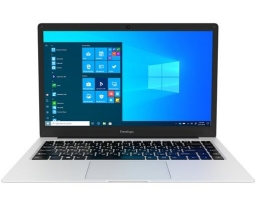 "Prestigio SmartBook 141 C5 Intel Celeron N3350 1100MHz/14.1""/1366x768/4GB/64GB eMMC/Intel HD Graphics 500/Windows 10 Pro (PSB141C05CGP_MG_CIS) Silver"