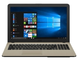 "ASUSVivobook X540MA-GQ105 Intel Celeron N4000 1100 MHz/15.6""/1366x768/4GB/256GB SSD/DVD нет/Intel UHD Graphics 600/Wi-Fi/Bluetooth/Endless OS (90NB0IR1-M15570) Black"